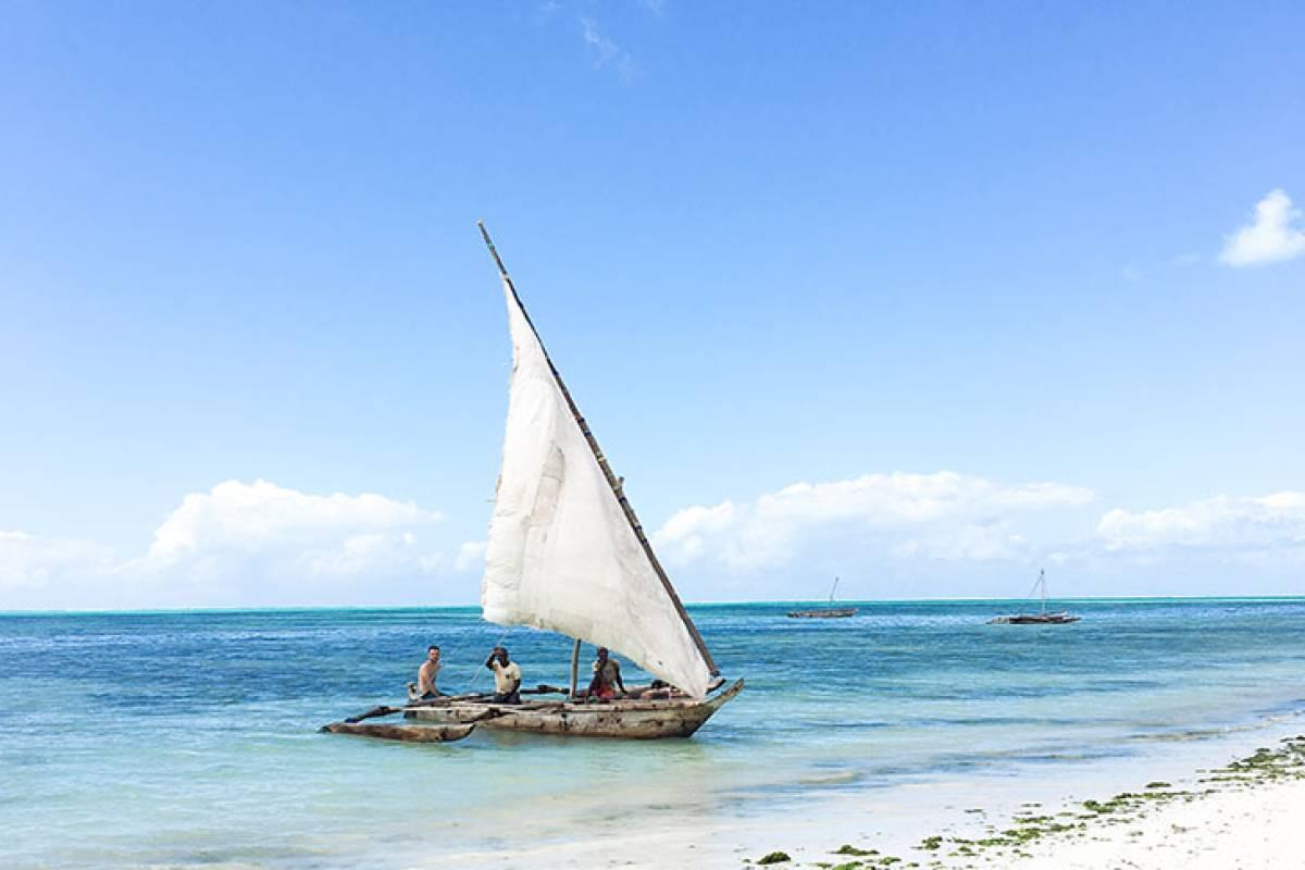Snorkeling in Jambiani